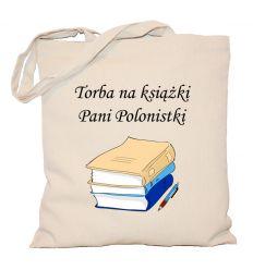 Torba na książki Pani Polonistki