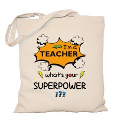 Torba I'm a teacher superpower