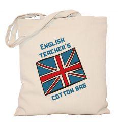 Torba English teacher's cotton bag