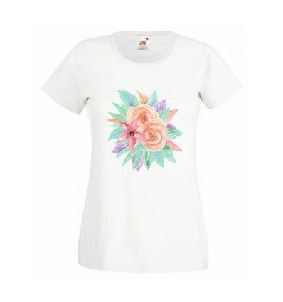 Koszulka pastelowe kwiaty