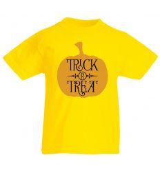 Koszulka dynia Treat or Trick