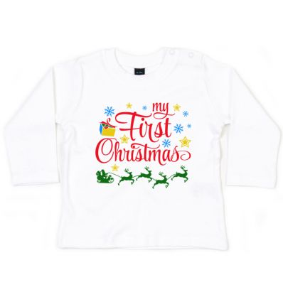 Bluzka My First Christmas
