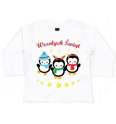 Bluzka Pingwinki