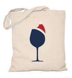 Torba świąteczna Glass of wine