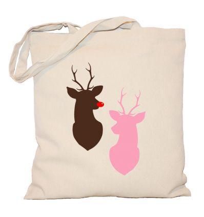 Torba świąteczna Deers