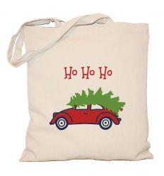 Torba świąteczna Choinka na samochodzie