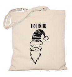 Torba świąteczna Mikołaj w czapce