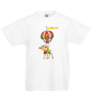 Koszulka reniferek z balonem