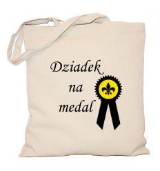 Torba bawełniana Dziadek na medal
