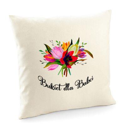Poszewka Bukiet dla Babci