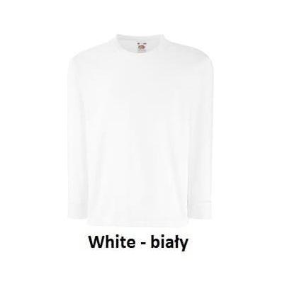 Fruit Koszulka na długi rękaw White