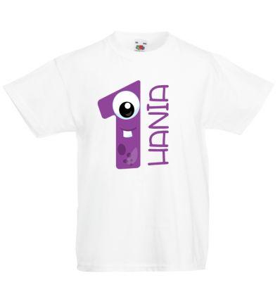 Koszulka Jedyneczka na roczek z imieniem