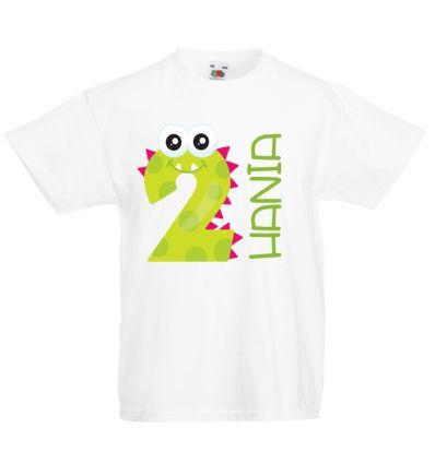Koszulka na dwa latka z imieniem