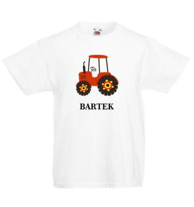 Koszulka Traktor z imieniem