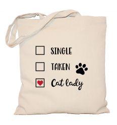 Torba z kotem Cat Lady