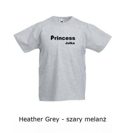 Koszulka dziecięca W008D Princess