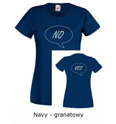 Koszulka damska Tak i Nie K016