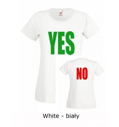Koszulka damska Yes No K017